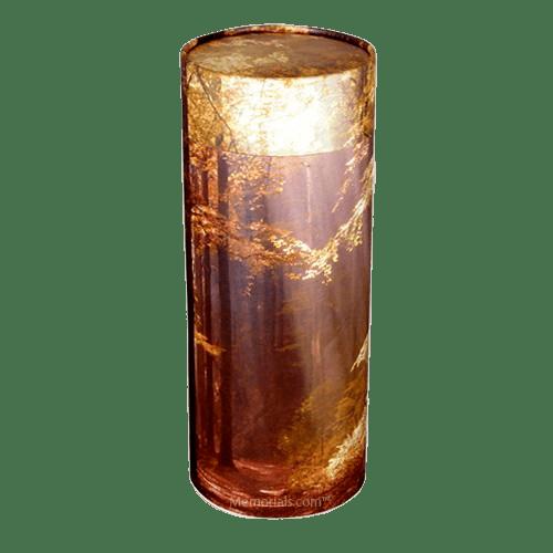 Autumn Scattering Mini Biodegradable Urn
