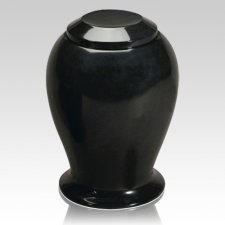 Black Night Marble Cremation Urn