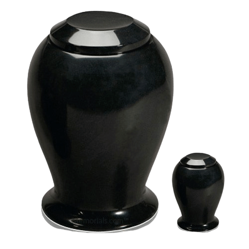 Black Night Marble Cremation Urns