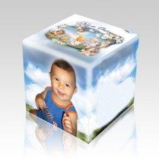 Baby Photo Cremation Urn
