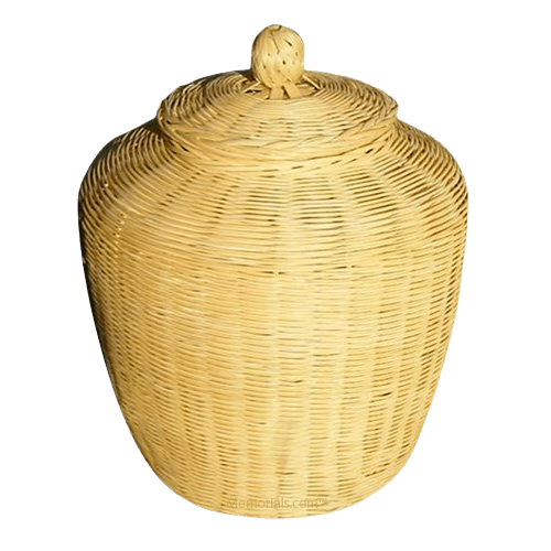 Bow Bamboo Cremation Urn