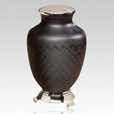 Baroque Glass Cremation Urn