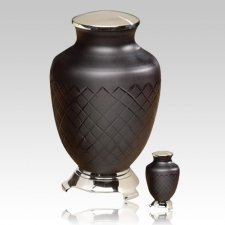 Baroque Glass Cremation Urns