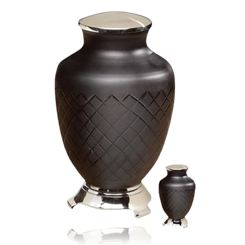 Baroque Glass Cremation Urns