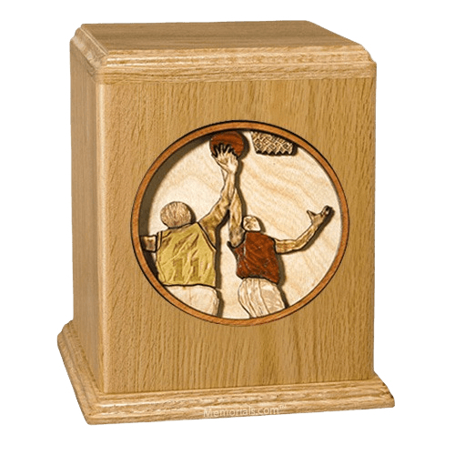 Basketball Cremation Urn II