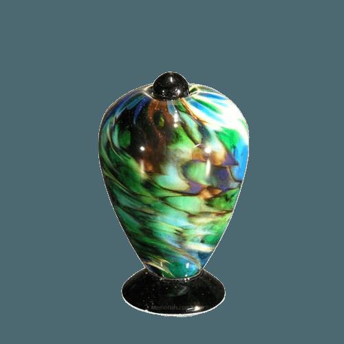 Belleza Glass Keepsake Cremation Urn