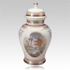 Belvediere Porcelain Cremation Urn