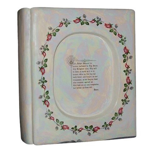 Bible Ceramic Cremation Urn