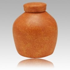 Terra Cota Biodegradable Urn
