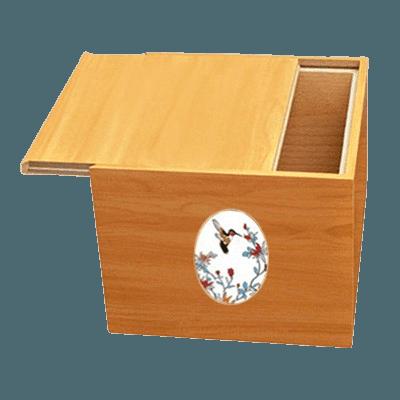 Norwegian Hummingbird Cremation Urn