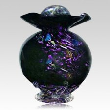 Black Fantasy Companion Cremation Urn