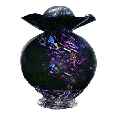 Black Fantasy Companion Cremation Urn
