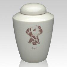 My Dog Picture Ceramic Cremation Urn