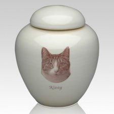 My Cat Picture Ceramic Cremation Urn