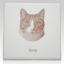 Antique Photo Memorial Pet Tile