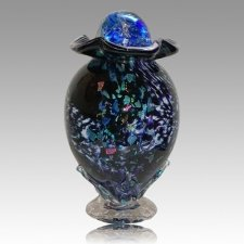 Moonshine Glass Cremation Urns
