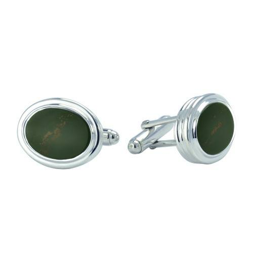 Bloodstone Cremation Cufflinks