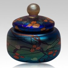 Blue California Keepsake Urn