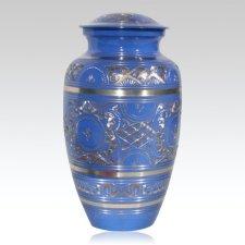 Blue Keepsake Urn