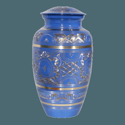 Blue Swan Cremation Urn