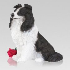 Border Collie Cremation Urn