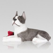 Boston Terrier Cremation Urn