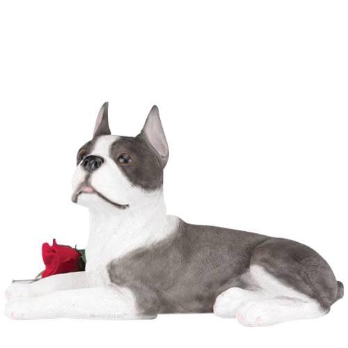 Boston Terrier Cremation Urn