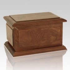 Chicago Wood Cremation Urn