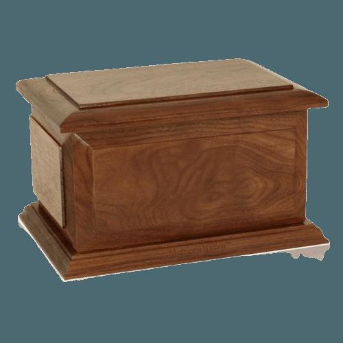 Chicago Wood Cremation Urn