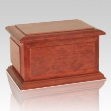 Boston Wood Cremation Urn