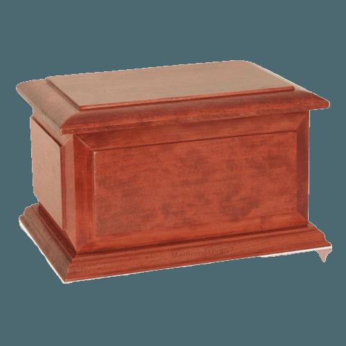 Boston Wood Cremation Urn