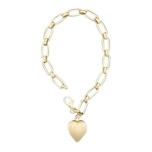 Rectangular Link 14k Cremation Bracelet