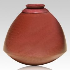 Garbha Wood Cremation Urn