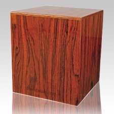 Brazilian Rosewood Cremation Urn