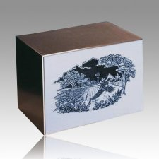 Pheasant Flight Cremation Urn