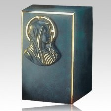 Artisan Mary Bronze Cremation Urn