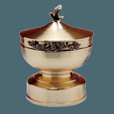 Petal Natural Bronze Cremation Urn