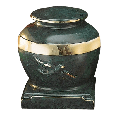 Eternal Patina Bronze Cremation Urn