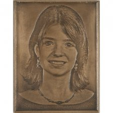 Bronze Grave Marker Picture IV