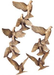 Dove Release Bronze Statues