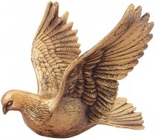 Dove Bronze Statues
