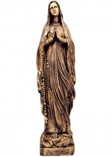 Virgen De Lourdes Bronze Statues