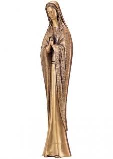 Mary in Prayer Bronze Statues