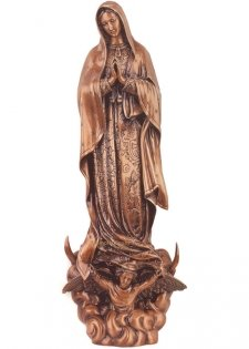 Madonna Di Guadalupe Bronze Statues