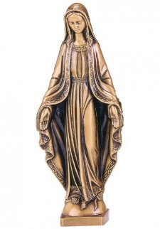 Mary X Large Bronze Statues