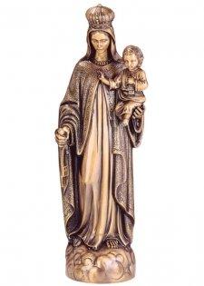 Virgen Del Carmen Bronze Statues II