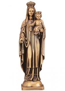 Virgen Del Carmen Bronze Statues