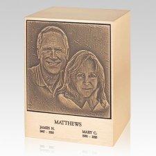 Lasting Memories Bronze Companion Urn II