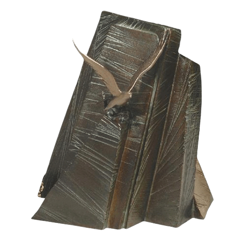 Mountain Eagle Bronze Cremation Urn
