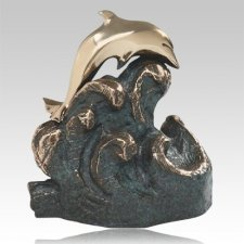 Tranquility Bronze Cremation Urn